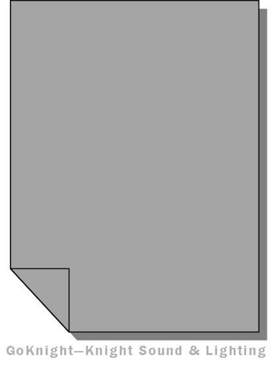 """Lee Filters 210 0.6ND Lighting Gel Sheet 21"""" x 24"""""""