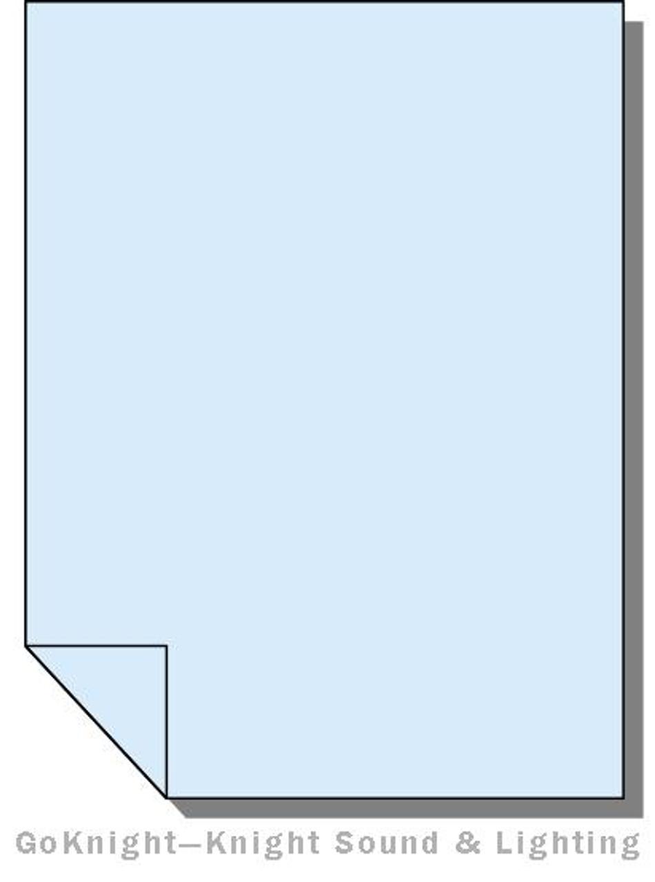 27fb39dc Lee Filters Lighting Gel Sheet 501 New Colour Blue (Lee 501)