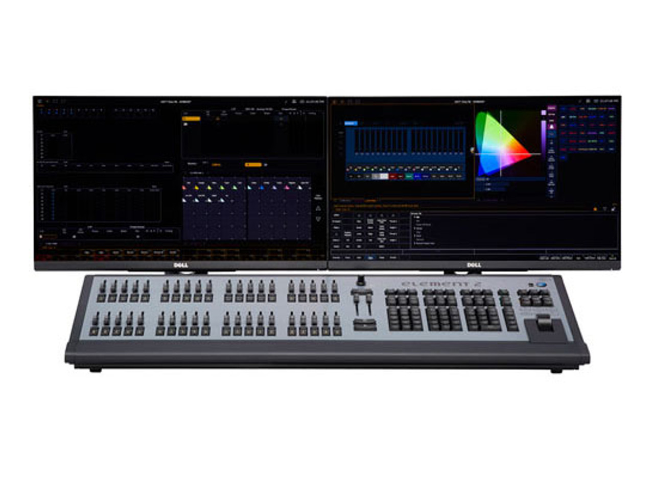 ETC Element 2 1k lighting console with 1,024 outputs - GoKnight