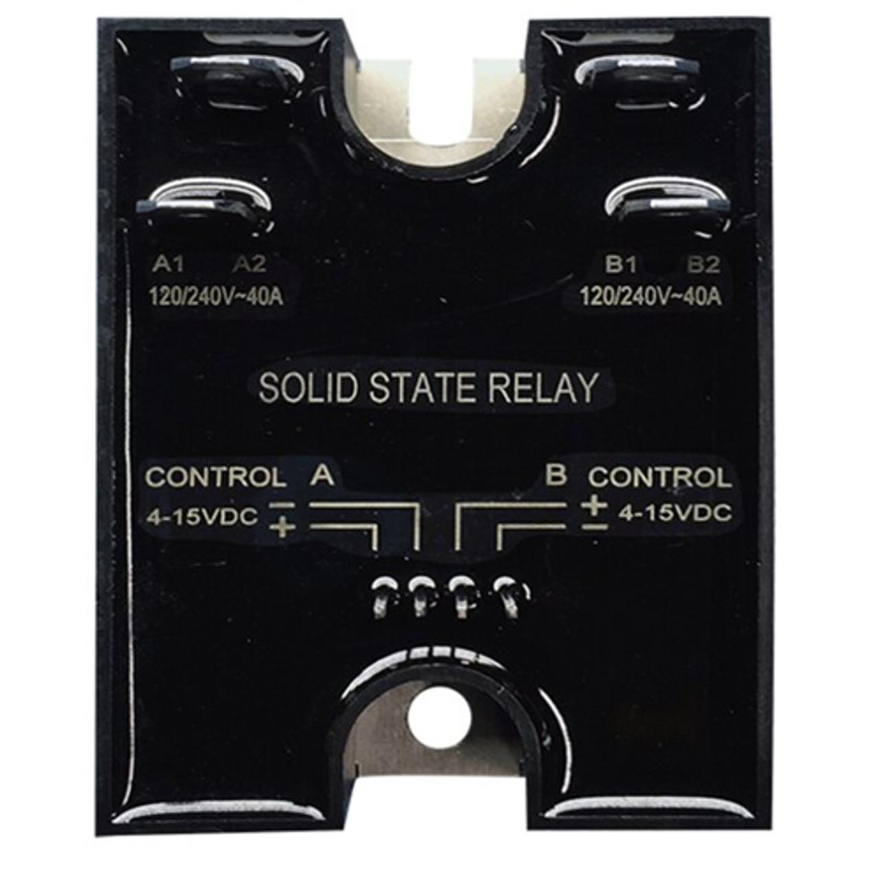 Strand CD80 dual 40 Amp SSR dimming cube (D40A SSR)