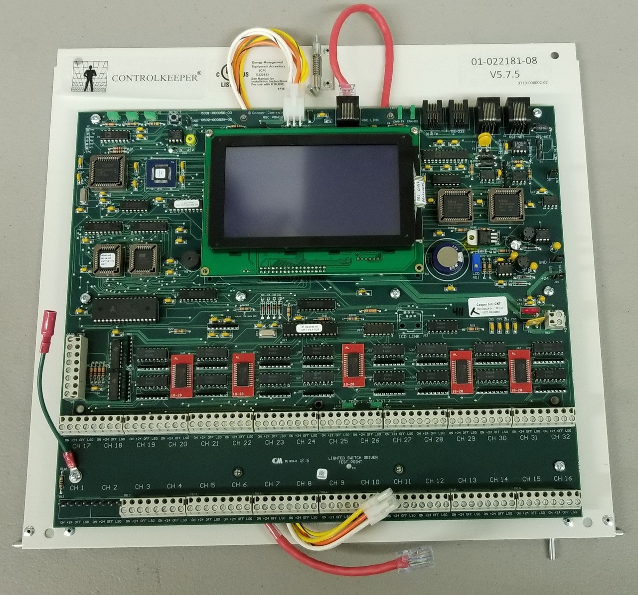 PCI ControlKeeper Touch Logic Card