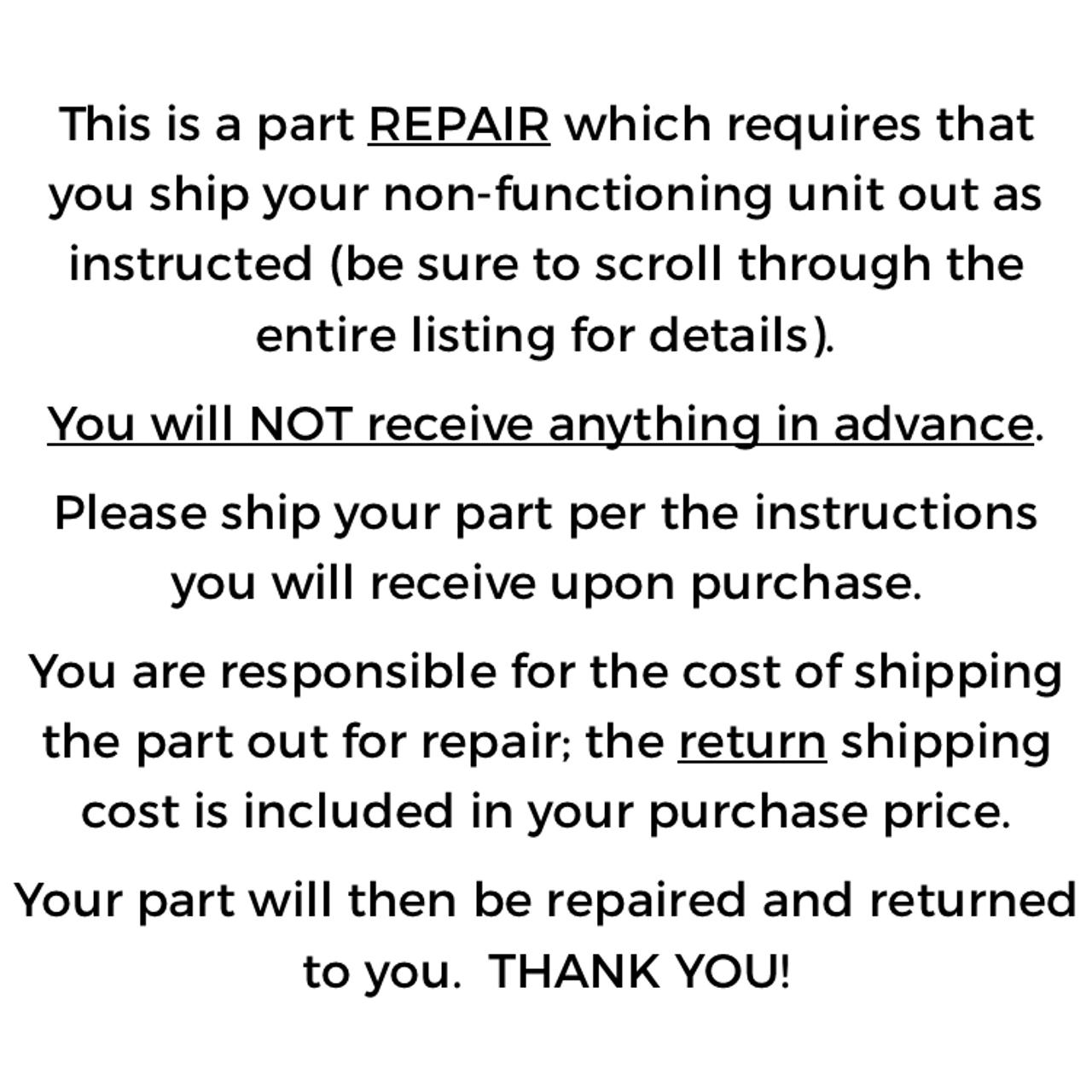 Leviton Colortran ENR Universal Control Module 600-904 240V, repair