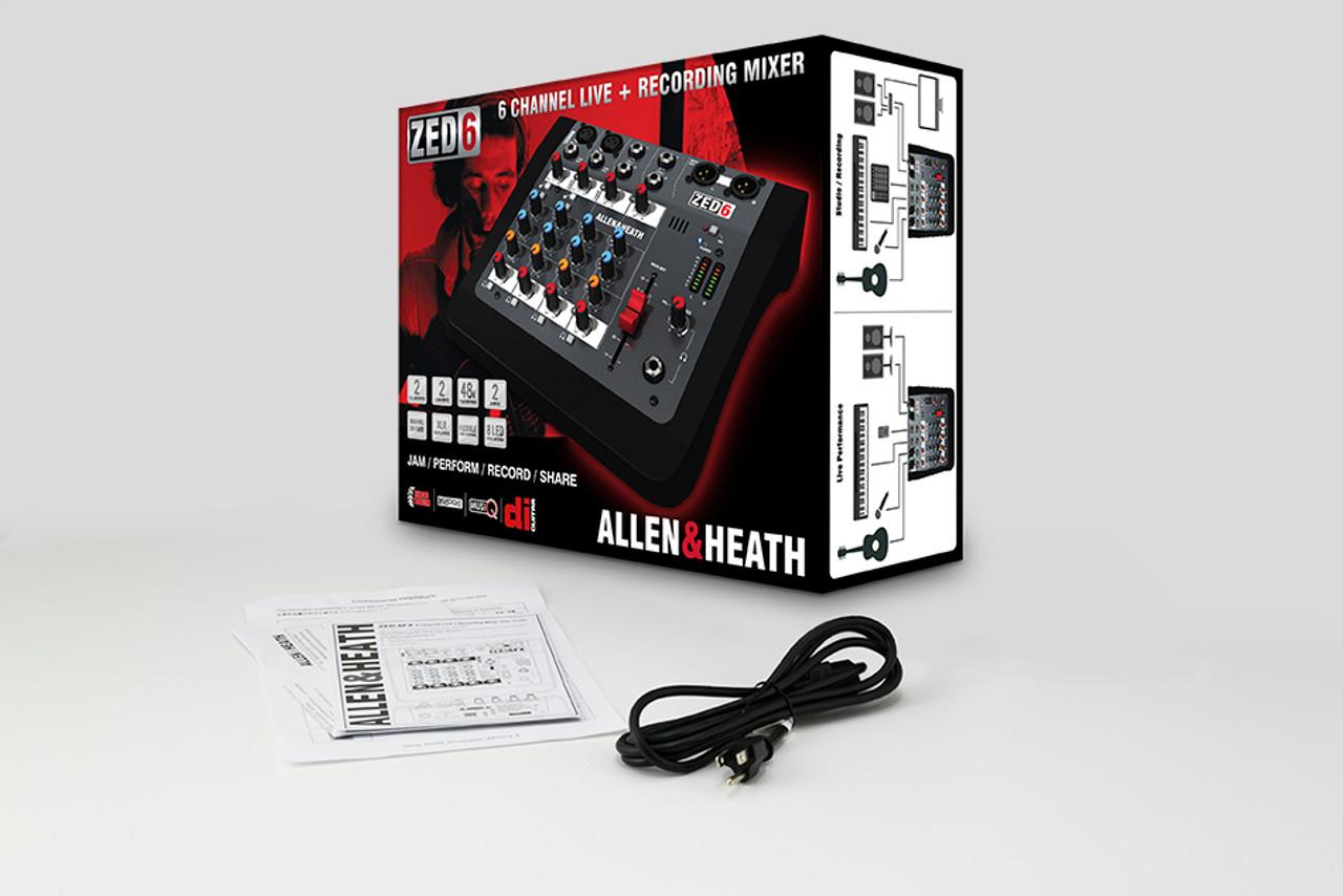 Allen & Heath AH-ZED6