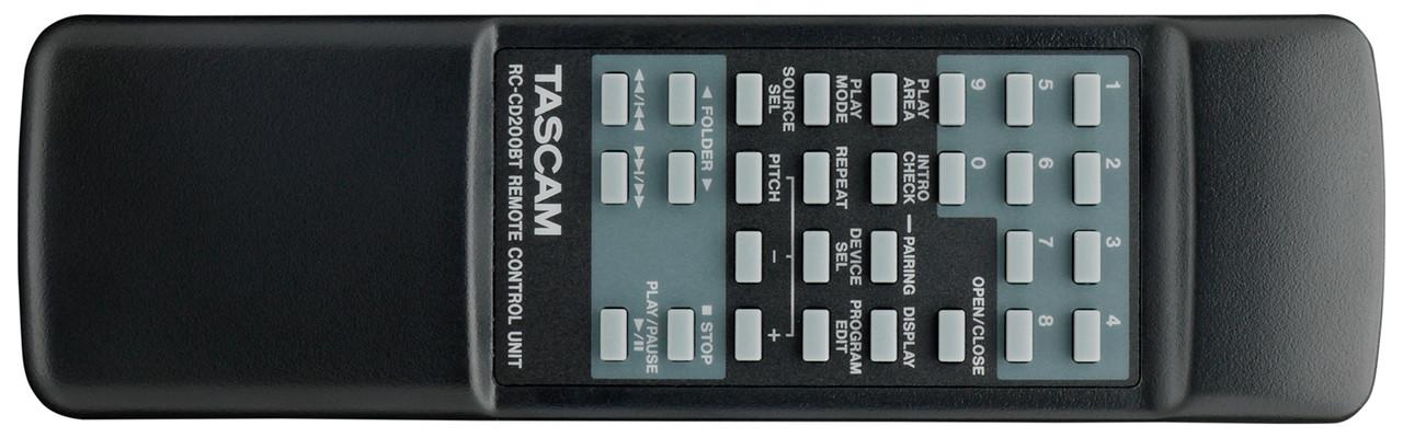 Tascam CD-200BT Remote