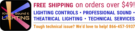 Knight Sound & Lighting     1-866-457-5937