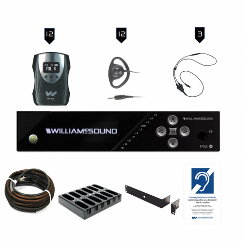 Williams Sound FM 558-12 PRO