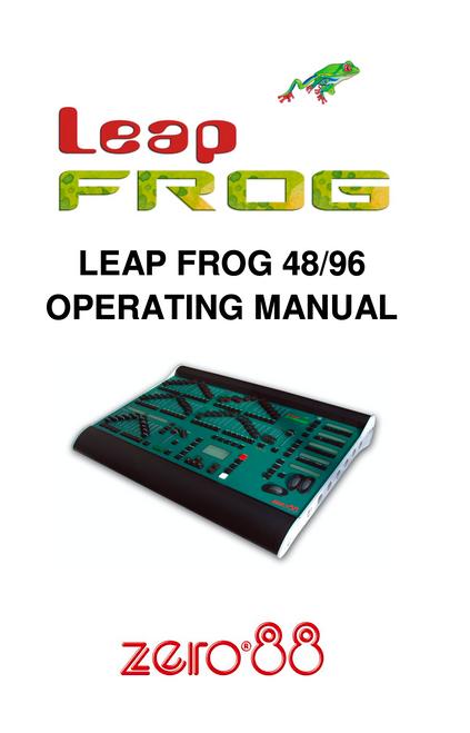 EDI LeapFrog Console User Manual