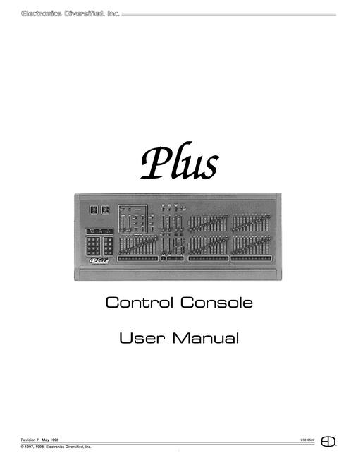 EDI Plus Console User Manual
