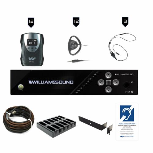 Williams Sound FM 558-12 PRO D
