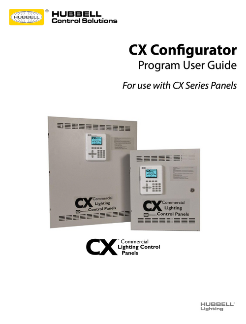 Hubbell CX Config Program User Guide