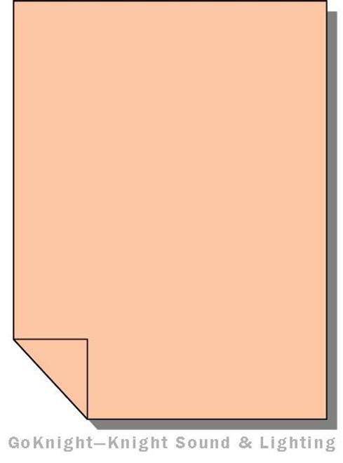 "Lee Filters Lighting Gel Roll 775 Soft Amber Key 2 (Lee 775 roll (2""))"