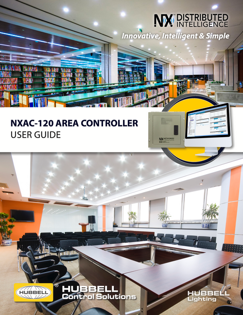 Hubbell NX Area Controller User Guide