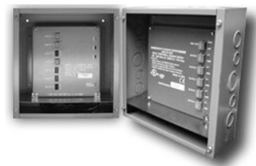 Doug Fleenor Design DMX12ANL-DIN-JBOX-PS