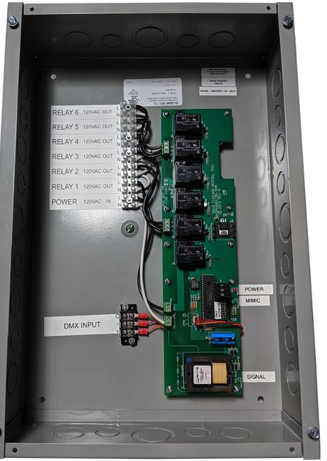 Doug Fleenor Design DMX6REL15A-JBOX