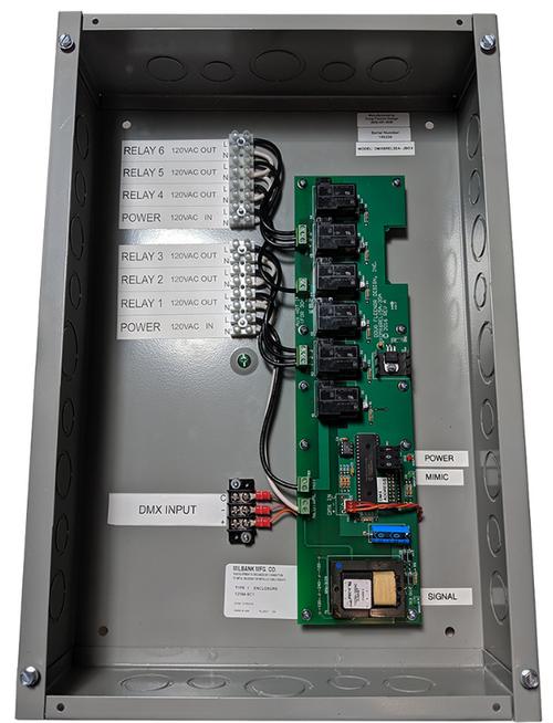 Doug Fleenor Design DMX6REL30A-JBOX