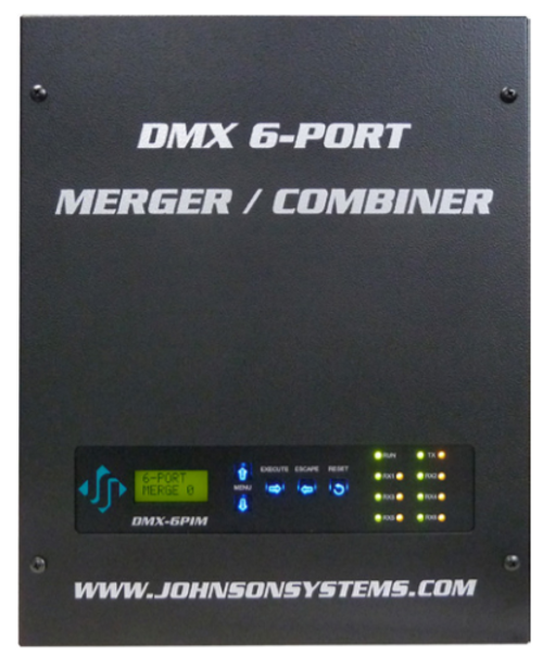 Johnson Systems DMX-6PIM-FM