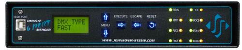 Johnson Systems DMX-6PM-XLR-RM