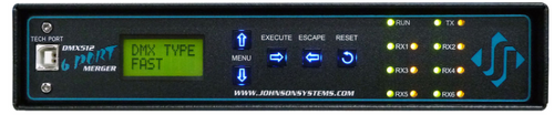 Johnson Systems DMX-6PM-TB-RM