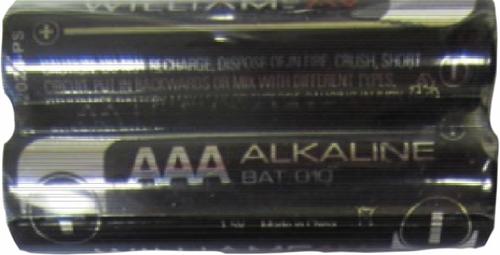 Williams Sound BAT 010-2  Two (2) 1.5-volt AAA Alkaline Batteries (BAT 010-2)