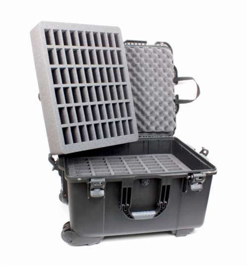 Williams Sound CCS 053, Heavy-duty Carry Case with Wheels for Large Digi-Wave, FM or Infrared System, Includes 2 60-Slot Foam Inserts CCS 053