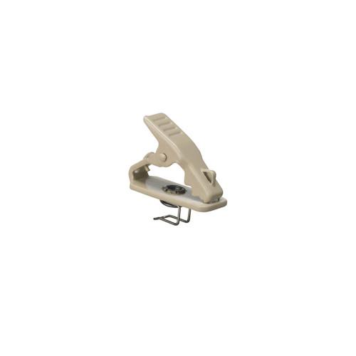 Audio-Technica AT8420-TH  Tie Clip, Metal, Beige
