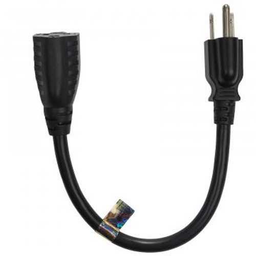 """Furman Sound 15-EXT1 13 Amp 12"""" Extension Cable"""