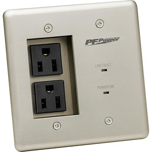 Furman Sound 2-Outlet Faceplate MIW-POWER-PRO-PFP