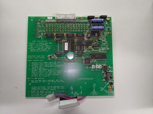 PCI DMXKeeper Processor, v1.0 Part #54-019120-0322