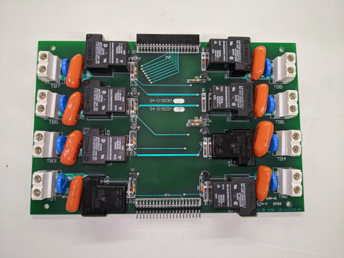 "PCI Standard ""Normally Open"" Relay Card; refurbished (54-015031-04)"