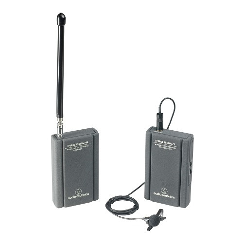 Audio-Technica W88-13-830:  Operational frequencies 169.445 & 170.245 MHz