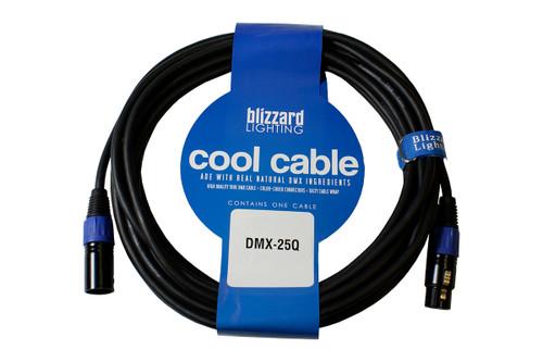 Blizzard DMX-25Q. 25' 3-Pin DMX Cable