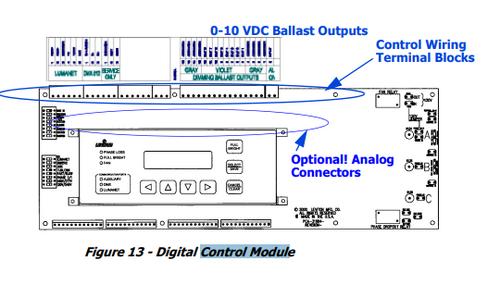 Leviton A2000 120v control module (AS320-001-554)