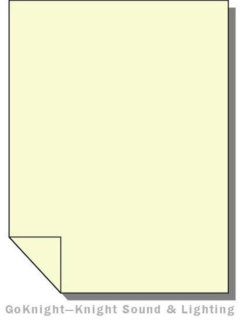 Lee Filters 007 Pale Yellow Lighting Gel Sheet