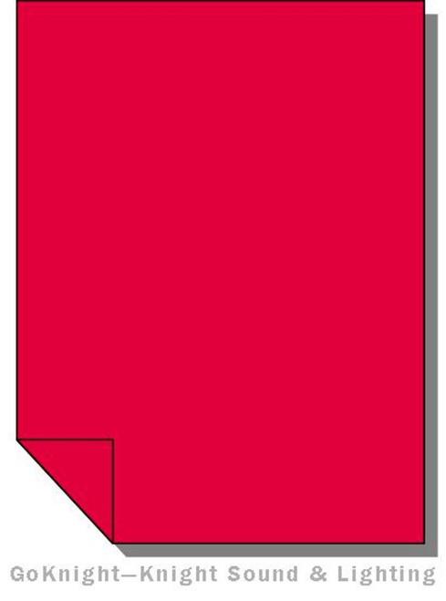 Lee Filters 029 Plasa Red Lighting Gel Sheet