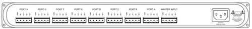 Pathway Connectivity 9115; PWREP RM P8 TERM REAR RDMHUB
