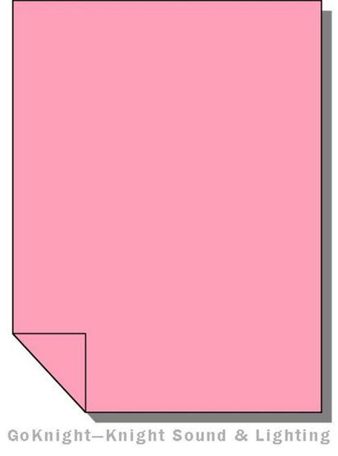 Lee Filters 036 Medium Pink Lighting Gel Sheet
