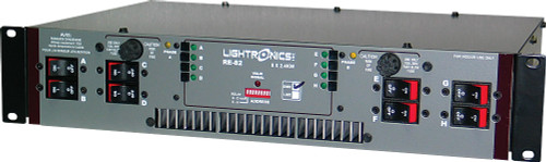 Lightronics RE82D Rack Mount Dimmer 8 Channels 2400W per Channel