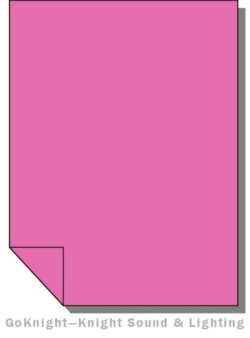Lee Filters 048 Rose Purple Lighting Gel Sheet