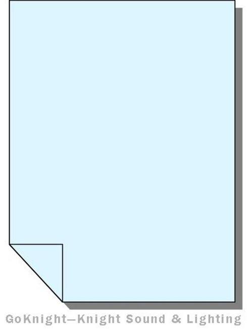 Lee Filters 061 Mist Blue Lighting Gel Sheet