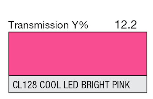 Lee Filters Lighting Gel Sheet CL 128 Cool LED Bright Pink (Lee CL 128)