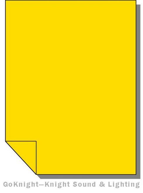 Lee Filters 104 Deep Amber Lighting Gel Sheet
