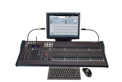 "Lepercon LPC-V3 48 Fader Lighting Console  w/ 15"" touch screen"