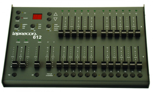 Leprecon LP 612 Lighting Controller - DMX Console