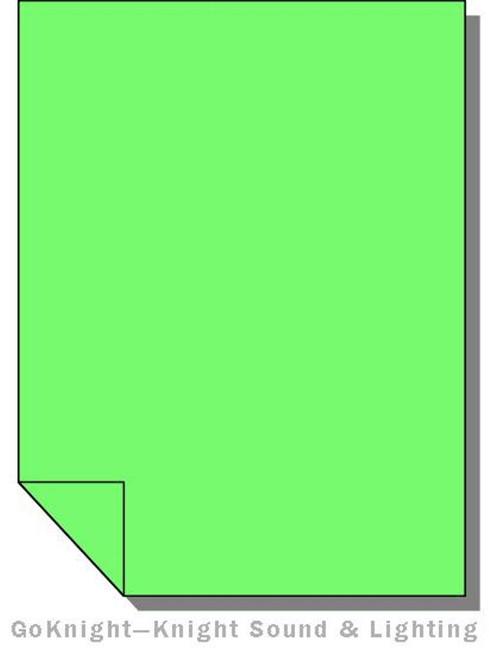 Lee Filters Lighting Gel Sheet 122 Fern Green High Temperature
