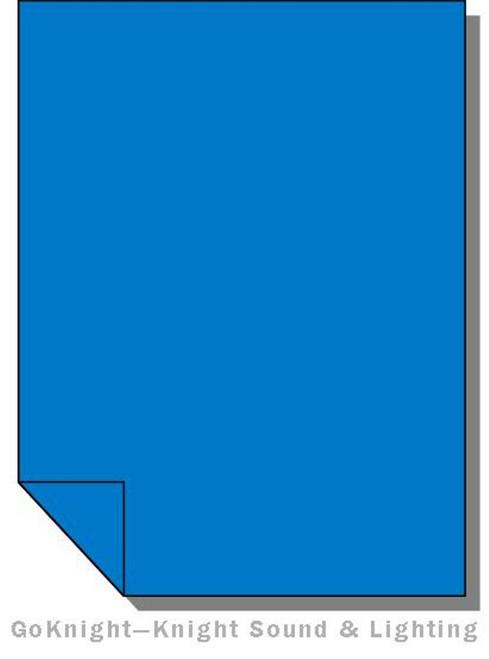 Lee Filters 119 Dark Blue Lighting Gel Sheet