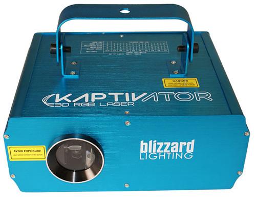 Blizzard Kaptivator 3D RGB Laser