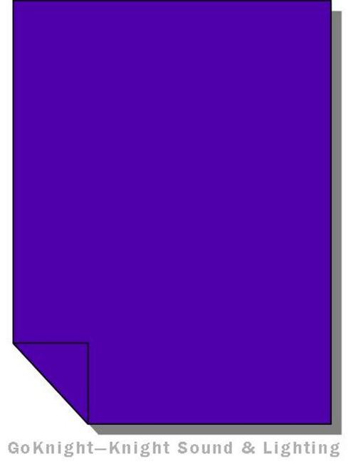 "Lee Filters 181 Congo Blue Lighting Gel Sheet 21"" x 24"""