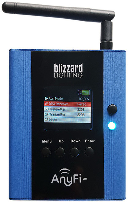 Blizzard Lighting LightCaster AnyFi W-DMX and wiCICLE Transceiver