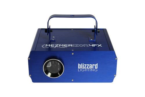 Blizzard Lighting Mezmerizor 4FX High-Power Class 3R 250MW RGB Laser