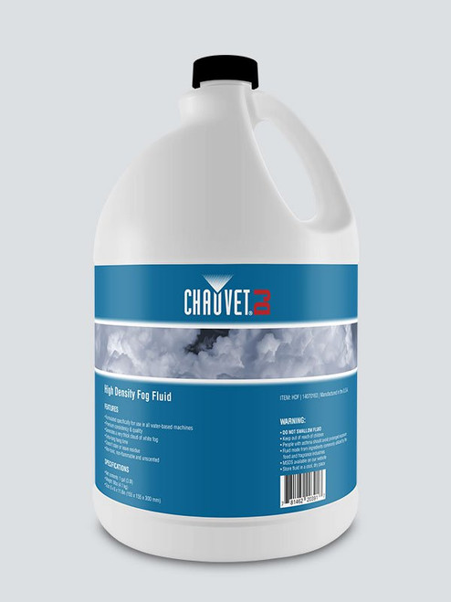 Chauvet Pro HDF High Density Fog Fluid-Vesuvio (HDF)